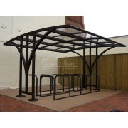 Centro 30 Bike Shelter, Black