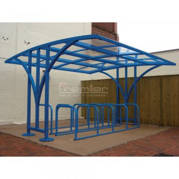 Centro 40 Bike Shelter, Sky Blue