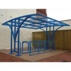 Centro 50 Bike Shelter, Sky Blue