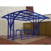 Centro 60 Bike Shelter, Marine Blue