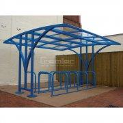 Centro 60 Bike Shelter, Sky Blue