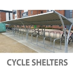Bike Shelters - Free Delivery - Any Colour - Installation