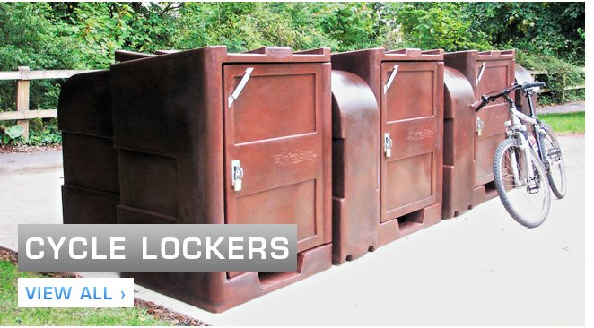 Bike Lockers & Cycle Helmet Lockers