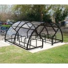 Salisbury Compound 40 Bike Shelter, Black