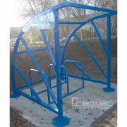 Sunrays 5 Bike Shelter, Sky Blue