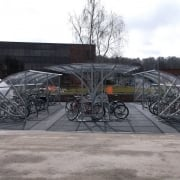 Sunrays Compound for 40 Bikes, Galvanised