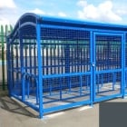 The Wave Cycle Shelter for 10 Bikes, Basalt Grey